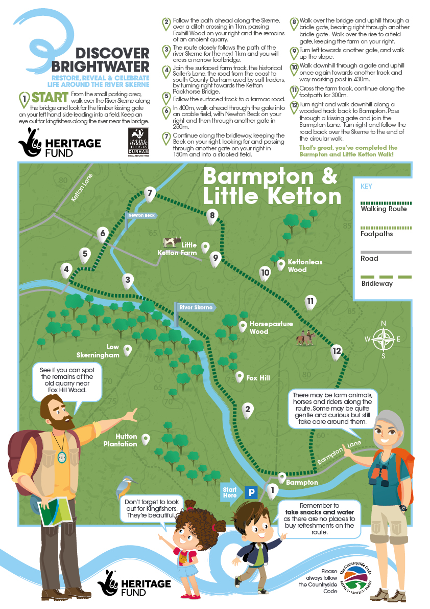 BARMPTON AND LITTLE KETTON WALK 3