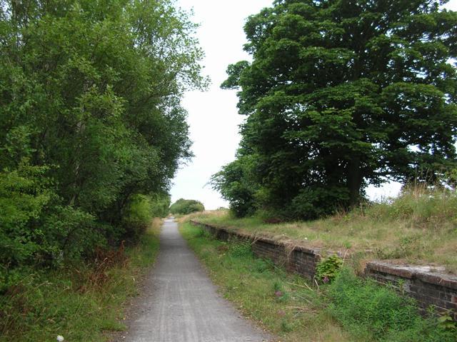 Hurworth Burn station remains