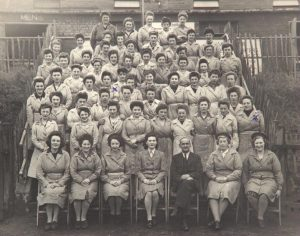 International Women's Day -Days before VE Day an explosion tore through the Aycliffe Angels factory - killing eightAycliffe Angels in 1945