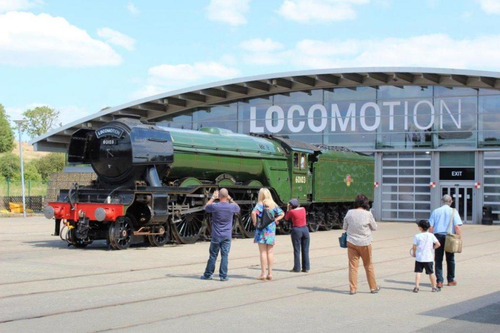 flying Scotsman locomotion museum