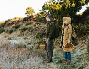foraging wild walk