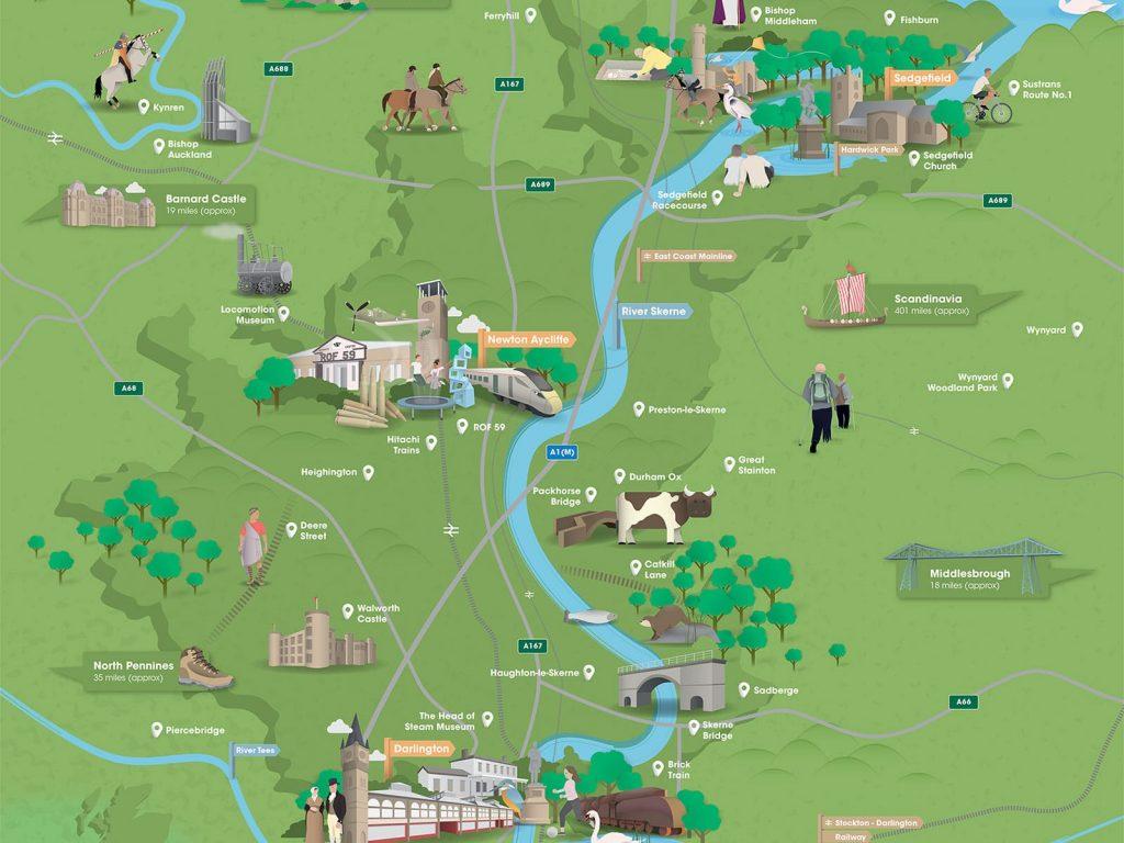 Hurworth Burn Reservoir - FREE Adventure Guide and Map 1